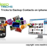 Tricks to Backup Contacts on iphones