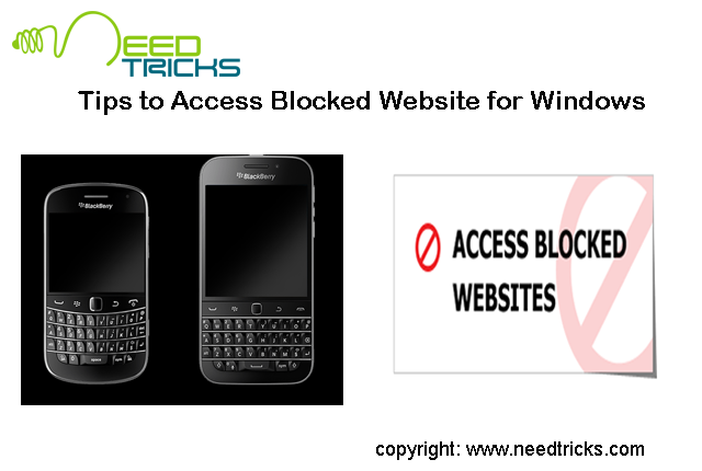 Tips to Access Blocked Website for Windows