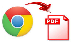 Save webpage as a PDF file