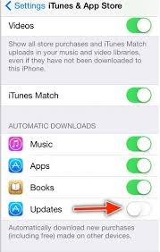 Steps to Turn Off Automatic App Updates for iOS