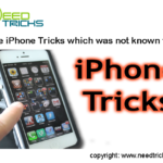 iPhone Tricks which was not known to you