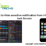 hide iphone notfification