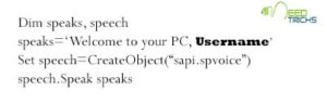 how can your PC greet you1