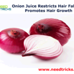 Onion Juice Restricts Hair Fall And Promotes Hair Growth