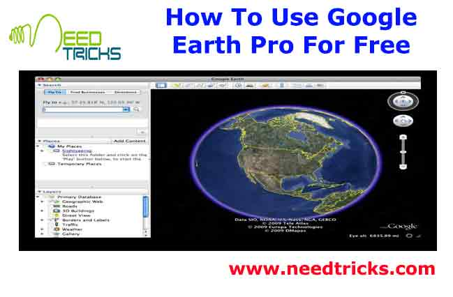 How To Use Google Earth Pro For Free