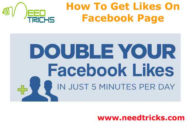 How To Get Likes On Facebook Page