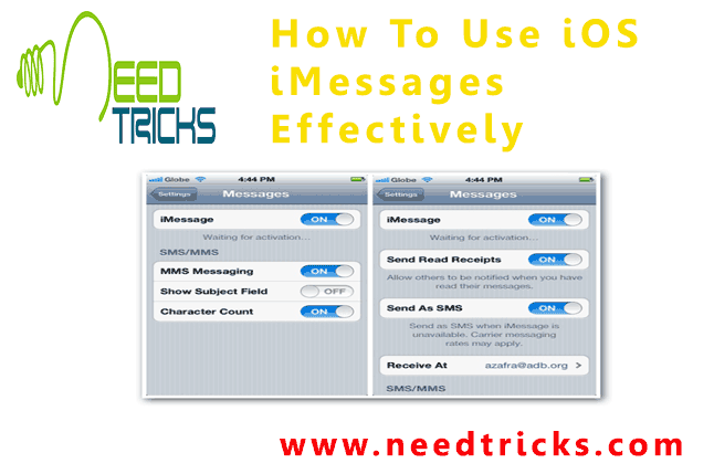 How To Use iOS iMessages Effectively