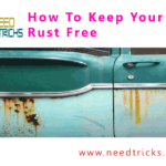 How To Keep Your Car Rust Free
