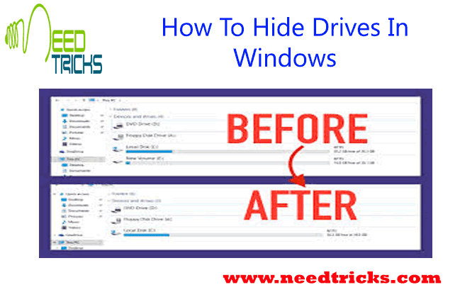 How To Hide Drives In Windows